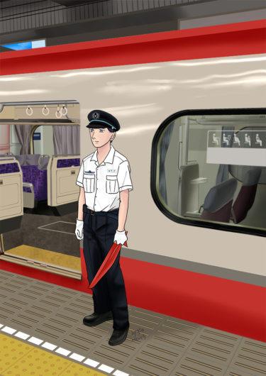 名古屋鉄道/男性盛夏制服