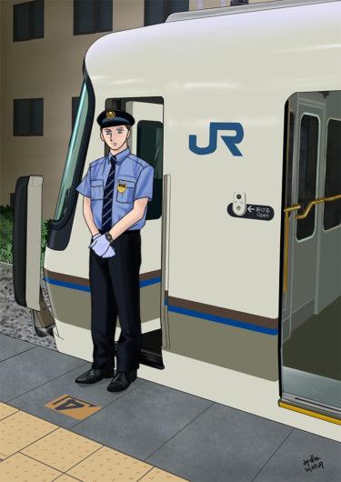 JR西日本/男性係員盛夏制服
